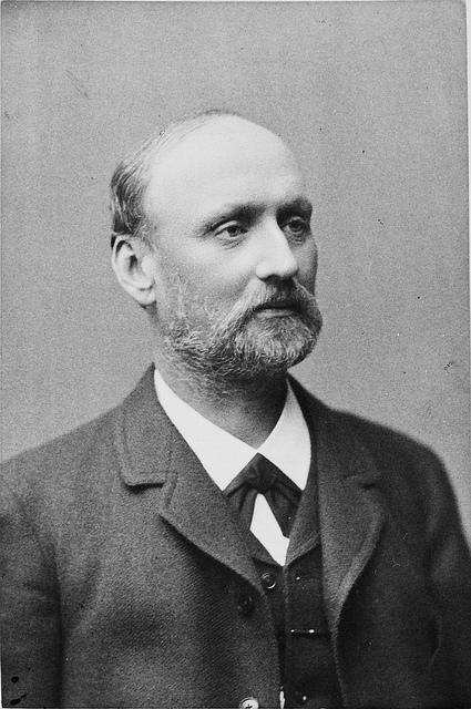 Portrait von Gustaf Zander